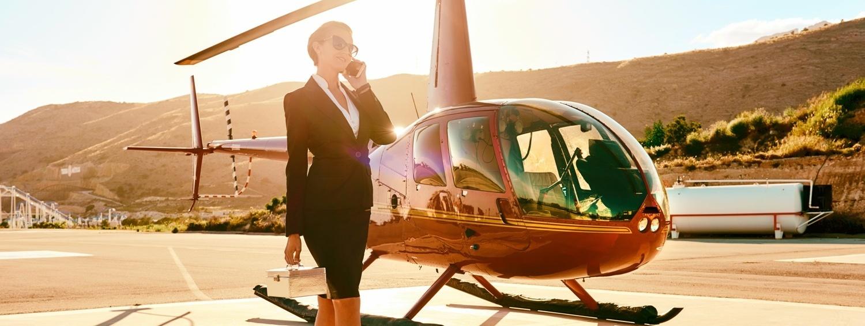 Продажа воздушных судов: вертолётов, самолётов